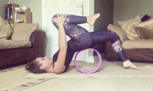 wheel yoga classes online